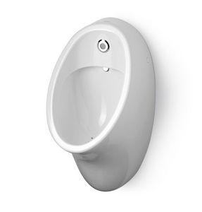 wandmontiertes Urinal / Keramik / mit Photozelle