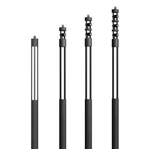 moderne Leuchtsäule / Aluminium / extrudiertes Aluminium / Hartglas