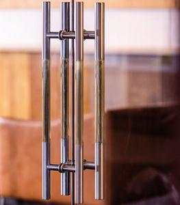Stoßgriff für Glastüren