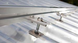 Montagesystem für Schrägdach / für Ziegeldach / Aufdach / für Photovoltaikanwendung