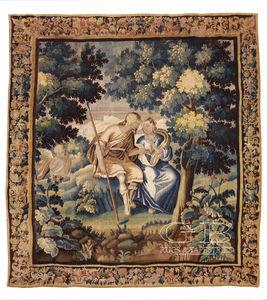 Aubusson-Wandbekleidung / Stil / Motiv / Wolle