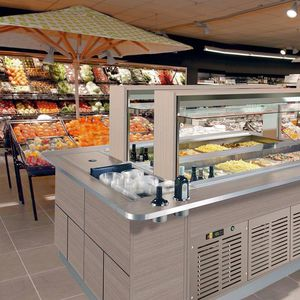 Zentral-Kühlbuffet