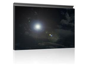 monokristallines Photovoltaik-Modul / aus entspiegeltem Glas / für Fassaden
