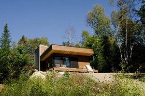 Fertigbau-Mikrohaus / Modul / modern / Öko