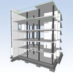 Schalungsplanungssoftware / für Betonkonstruktion / 3D
