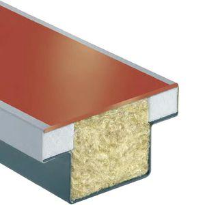 Sandwichplatte für Fassaden