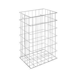 Abfallbehälter für Badezimmer / wandmontiert / Stahl / modern