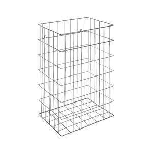 Abfallbehälter für Badezimmer / wandmontiert / Stahl / Kunststoff