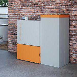 Pelletsheizkessel / Biomasse / Wohnbereich / Industrie