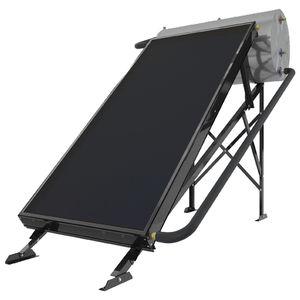 Solarwarmwasserbereiter / freistehend / horizontal / Wärmetauscher