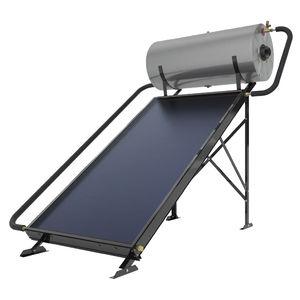 Solarwarmwasserbereiter / freistehend / horizontal / für professionellen Einsatz