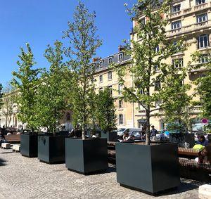 Pflanzkübel für öffentliche Bereiche