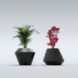 Polyethylen-Pflanzkübel / konisch / hoch / nach Maß