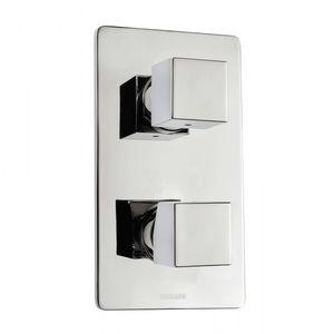 Einhebelmischer für Duschen / wandmontiert / Metall / Badezimmer