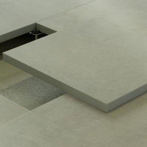 Kalziumsulfat-Doppelboden
