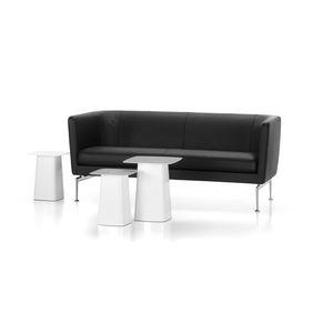 modernes Sofa / Stoff / Leder / von Antonio Citterio