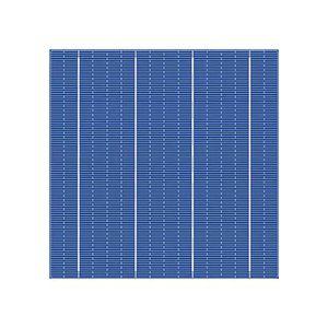 gefärbte Solarzelle / polykristallin