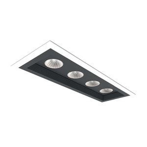 Einbaudownlight / LED / linear / Aluminium
