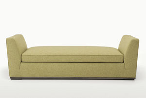 moderne Polsterbank / Stoff / von Antonio Citterio / beige