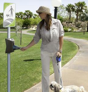 Hundekotbeutelspender für öffentliche Bereiche