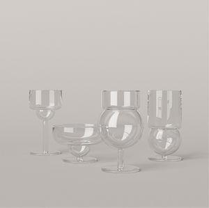 Glas für Privatgebrauch / für Feinschmecker-Restaurant