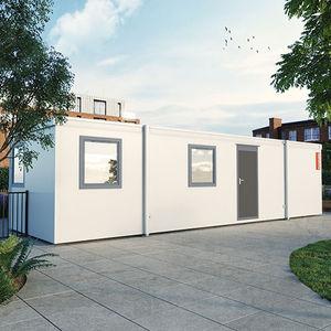 Fertigbau-Gebäude / Modul / aus verzinktem Stahl / für Büro