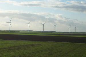 Horizontalachsen-Windkraftanlage / Dreiblatt / Onshore