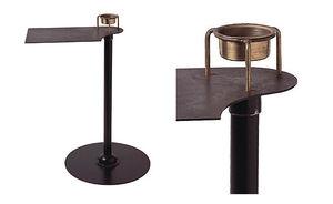 Beistelltisch / Art Deco / Holz / Metall / von Pierre Chareau