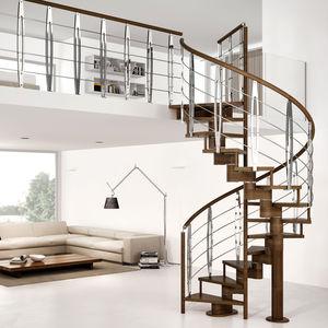gerade Treppe / viertelgewendelt / schrägverzahnt / halbgewendelt