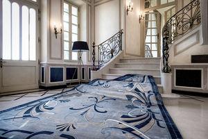traditioneller Teppich / Motiv / Seide / rechteckig