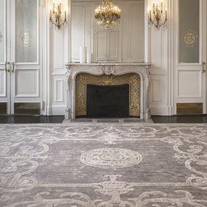 traditioneller Teppich / Barockmuster / Seide / rechteckig