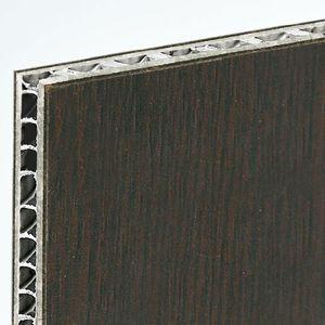 Sandwichplatte für Trennwandsysteme / für Fußböden / für Decken / 2 Laminat-Deckschichten