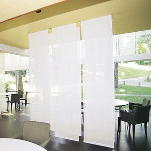 Stoff für Sonnenschutz / Rollo / uni / PVC-beschichtet