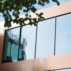 Aluminium-Fassadensystem / Glas