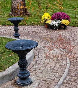 Park-Springbrunnen / Gusseisen