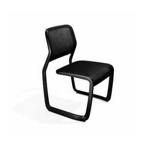 moderner Stuhl / Polster / mit Überhang / Netz