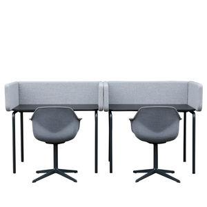 Schreibtisch für Open Space / aus MDF / modern / Objektmöbel