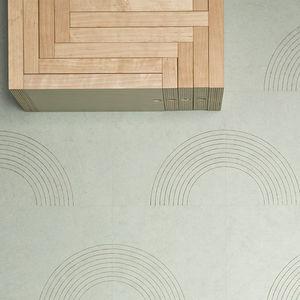 Linoleum-Bodenbelag / Innenbereich / Dekor / Privathäuser