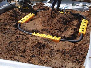 Bäume-Bewässerungssystem / erdverlegt / Beregnung