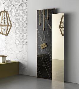 Standspiegel / modern / rechteckig / Holz