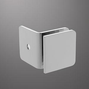 Glastüren-Scharnier / für Duschen / für Fenster / Metall