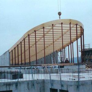 Holzdachstuhl