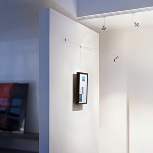 moderne Bilderleuchte / Aluminium / LED