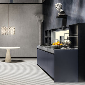 moderne Küche / NTM Fenix® / anodisiertes Aluminium / Edelstahl