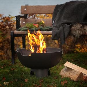 Garten-Feuerstelle / Holz