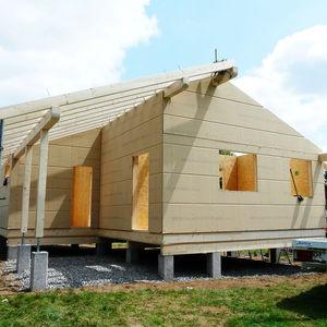 thermo-akustische Isolierung / aus Holzfaser / Wand / für Dächer