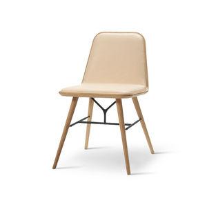 Restaurantstuhl / skandinavisches Design / Polster / aus Eiche / aus Esche