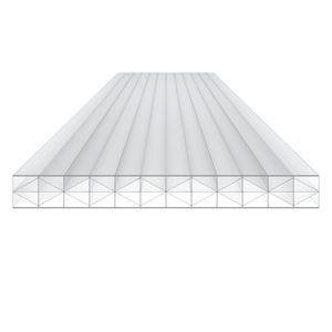 Stegplatten-Polycarbonatplatte