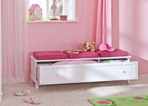 moderne Polsterbank / Holz / mit Stauraum / für Kinder (Unisex)