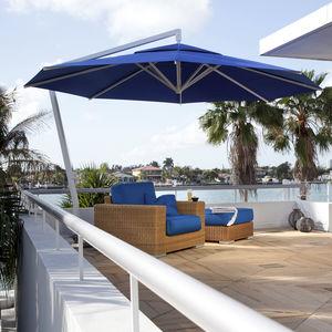 abgesetzter Sonnenschirm / Objektmöbel / für Hotels / für Bar